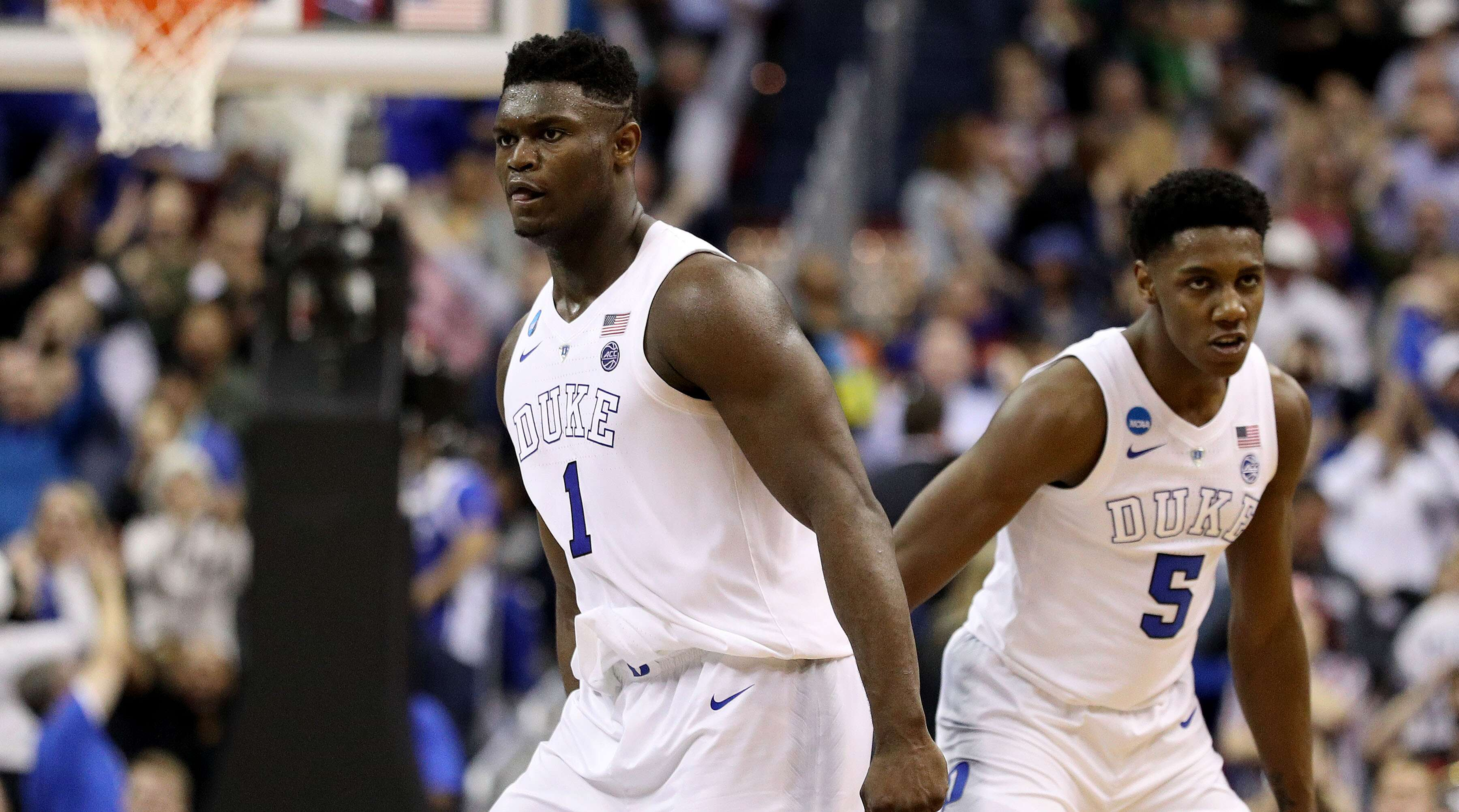 0f714fadc0d9 NBA Draft Lottery Roundtable  What Zion Williamson Suitors Stand to Lose