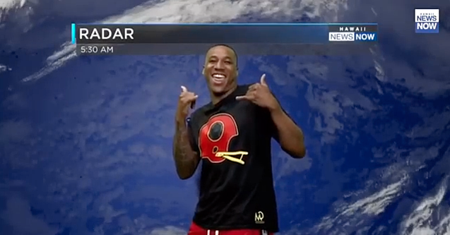 Rams News Now >> Marcus Peters Rams Cb Does Weather On Hawaiian Tv Video Si Com