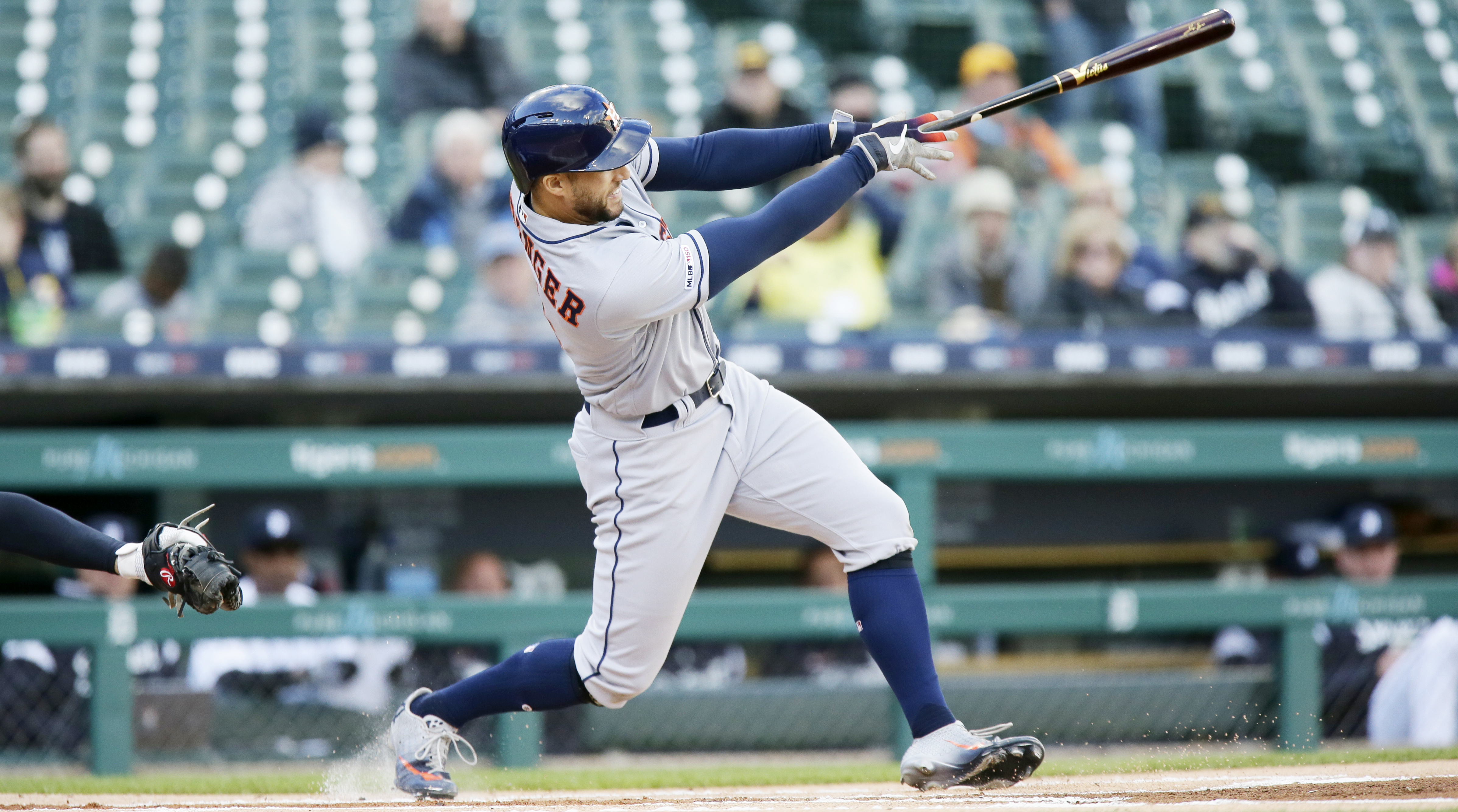 George Springer is in the midst of an MVP-caliber season.