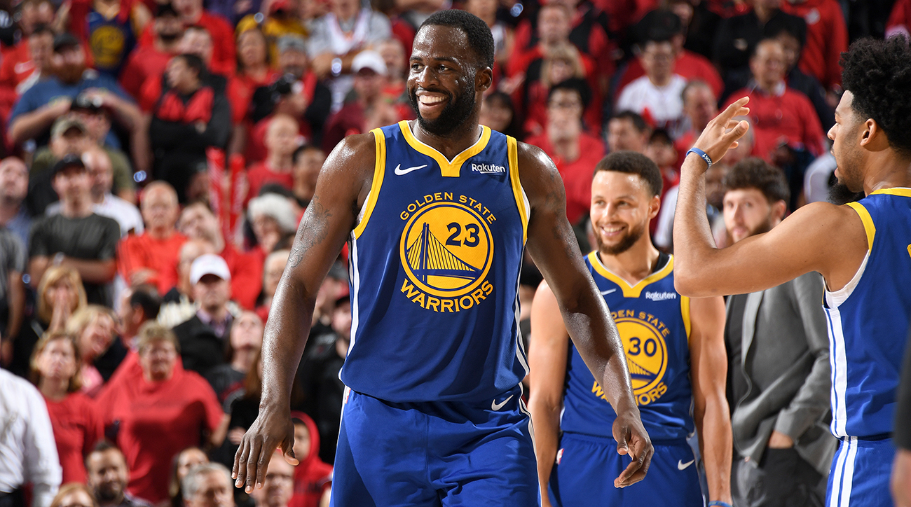 """Draymond Green has rised to the occasion on the offensive end with Kevin Durant sidelined with a calf injury. While perimeter shooting will never be his strength—""""Playoff Draymond"""" is finding plenty of ways to cause havoc."""