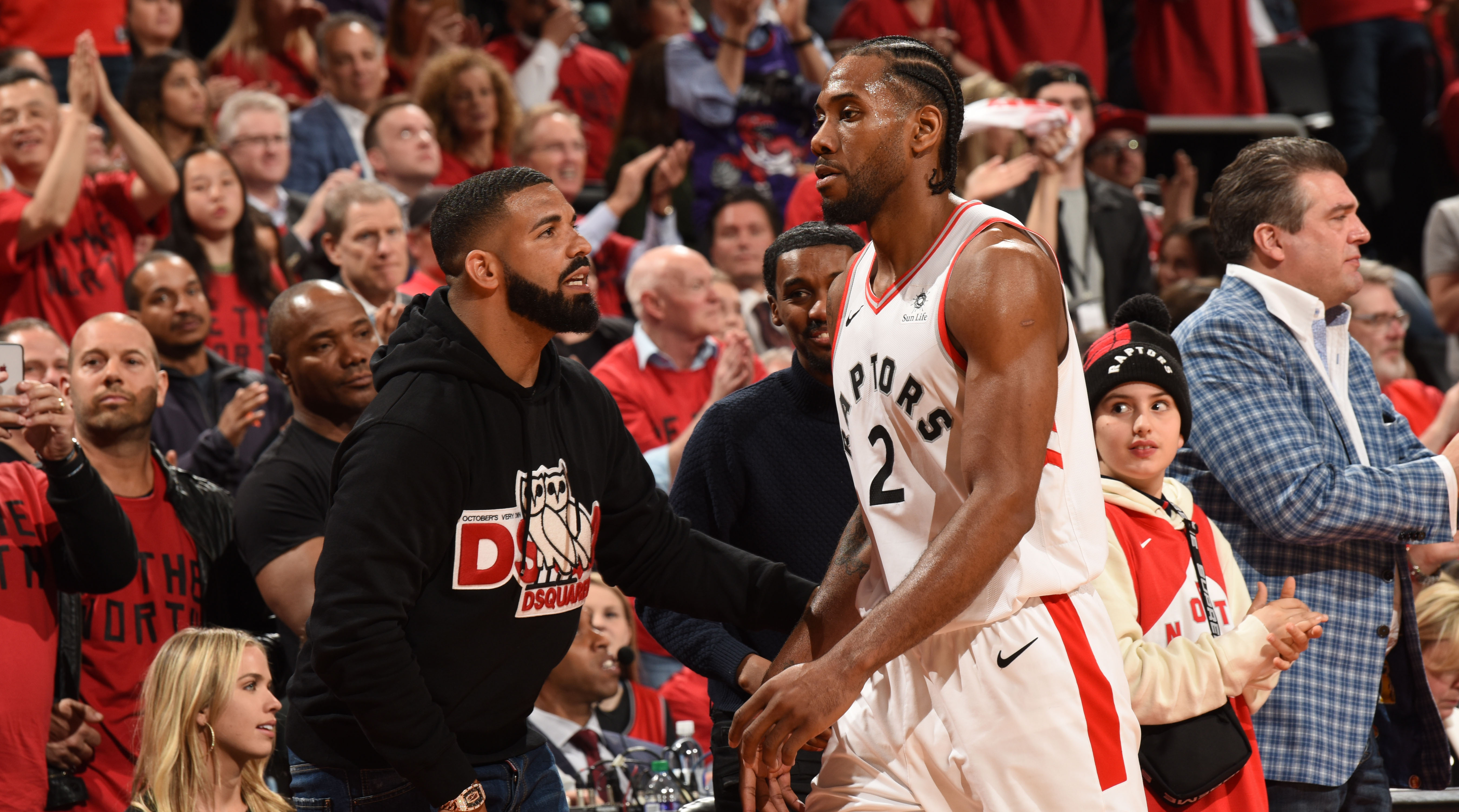 The Raptors-Bucks series was billed as Kawhi Leonard against Giannis Antetokounmpo. Kawhi and the Raptors are winning at the moment, with the Toronto star dominating on a level few expected.