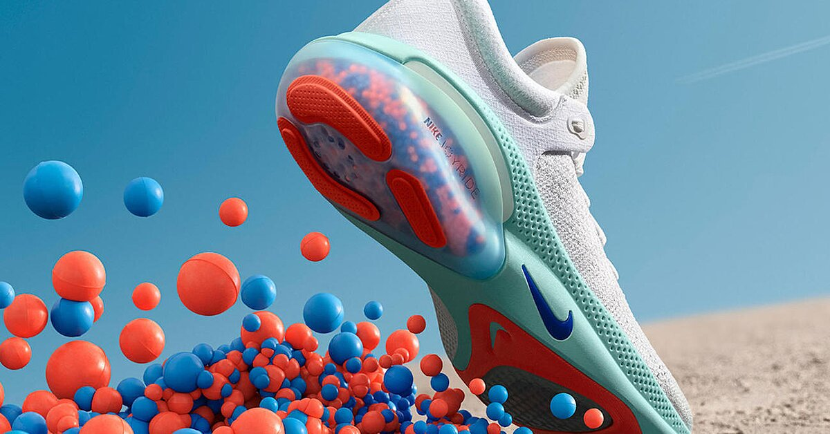 Nike Reveals Joyride Running Shoe in Most Current Cushioning Experiment thumbnail