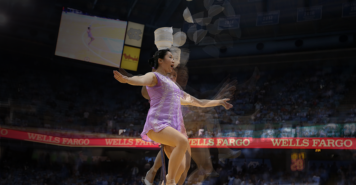 How Red Panda Became the NBA's Favorite Halftime Performer