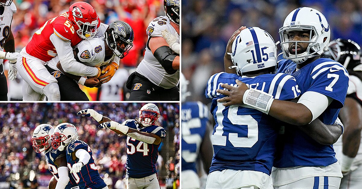 Week 3 Takeaways: Brissett Blows Up, Chiefs Slow Lamar Jackson, Patriots on the Defensive