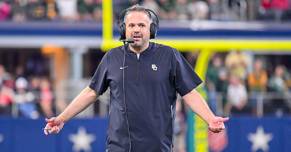 Baylor, Matt Rhule Agrees To Contract Extension Through 2027 Season