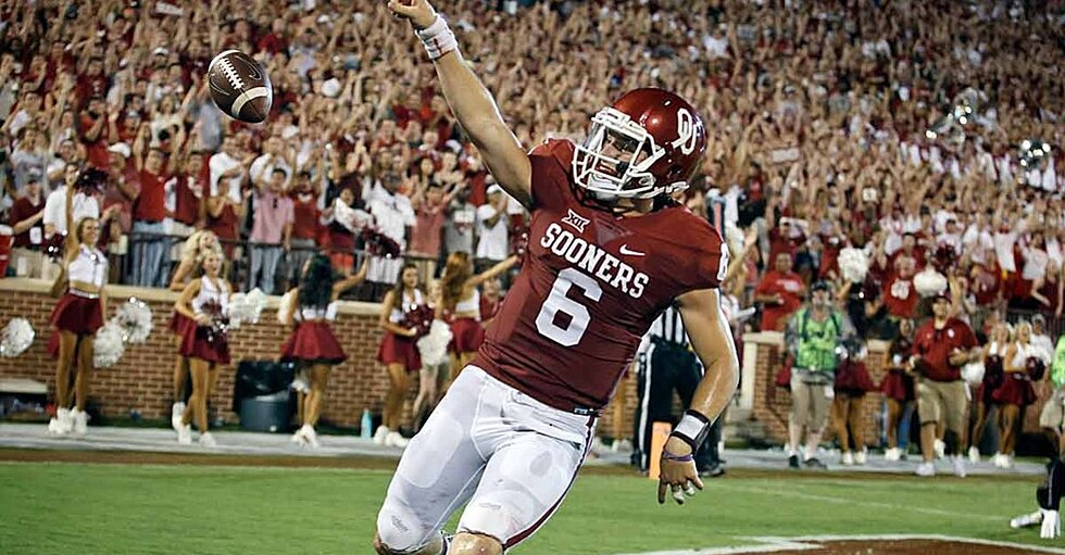 Oklahoma Sooners Offense In Good Hands Behind Baker Mayfield