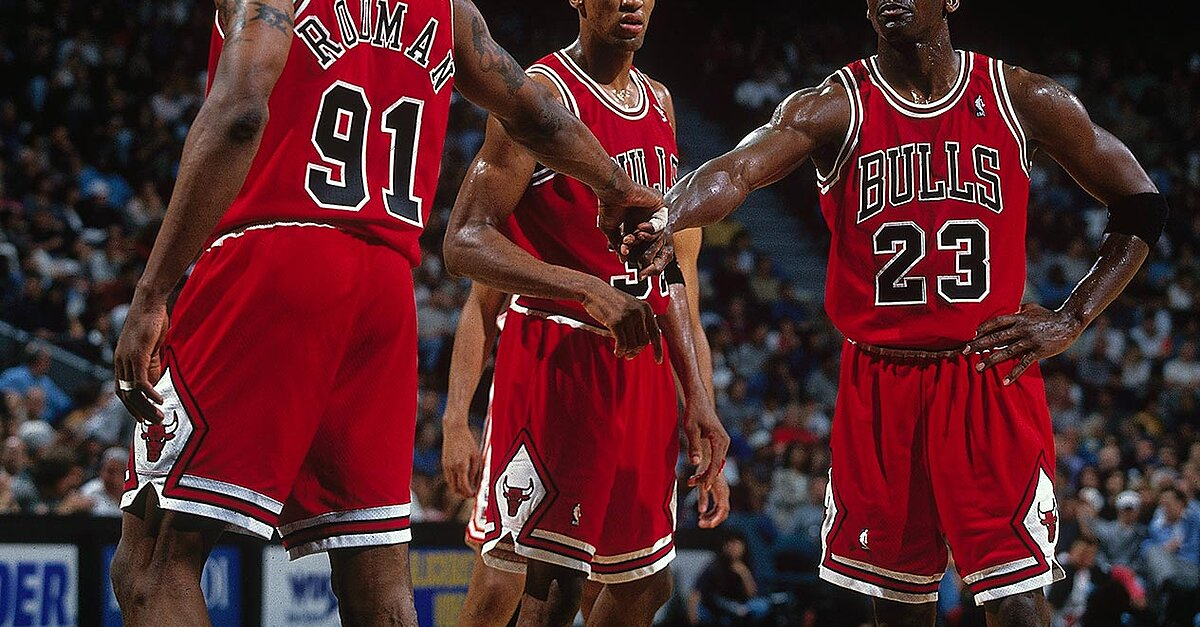1995 96 Chicago Bulls SIs Best Photos