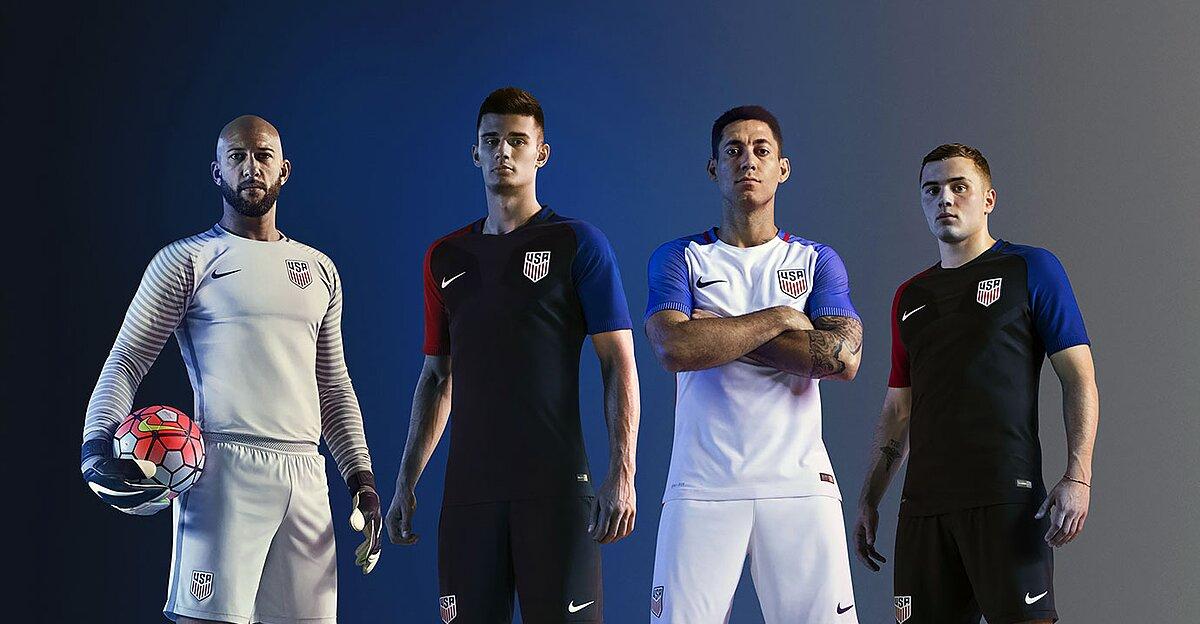quality design ec961 a5cba U.S. Soccer uniforms, jerseys through the years (PHOTOS ...