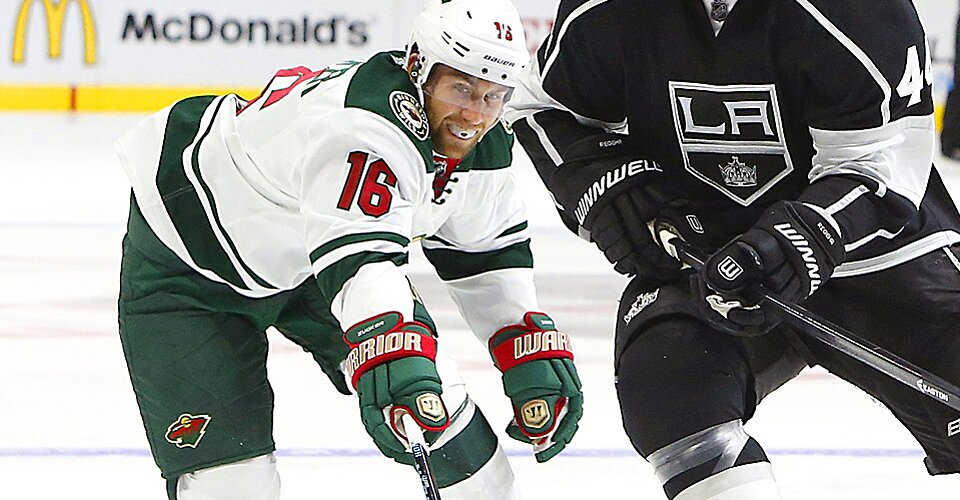 Wild Forward Jason Zucker Narrowly Avoided Taking Kyle Clifford S