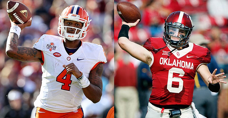 Deshaun Watson Or Baker Mayfield Best 2016 Quarterback