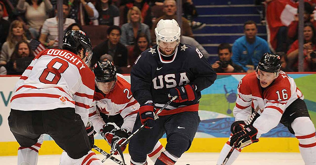 nhl players in the olympics Ice hockey at the olympic games the olympics in which national hockey league players participated — from 1998 to 2014 — were primarily officiated by.