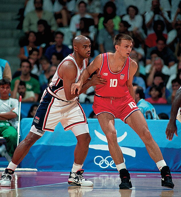 c392a297e2 Charles Barkley takes on the world at the 1992 Olympics | SI.com