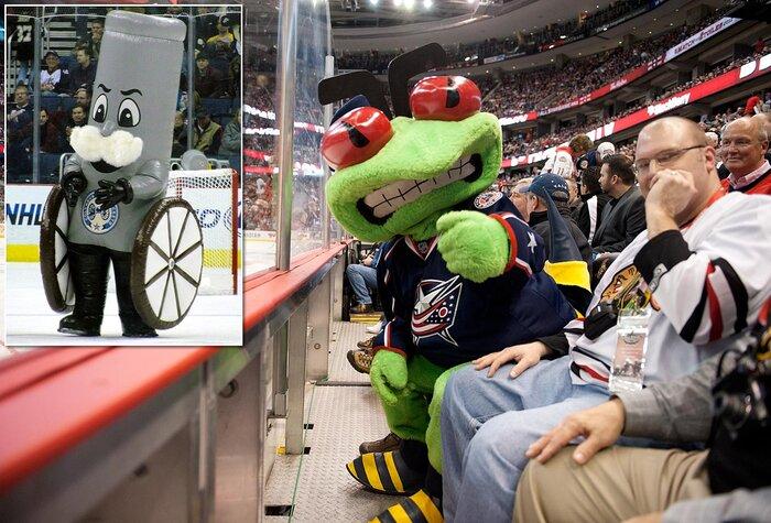 Weirdest Hockey Mascots   SI.com