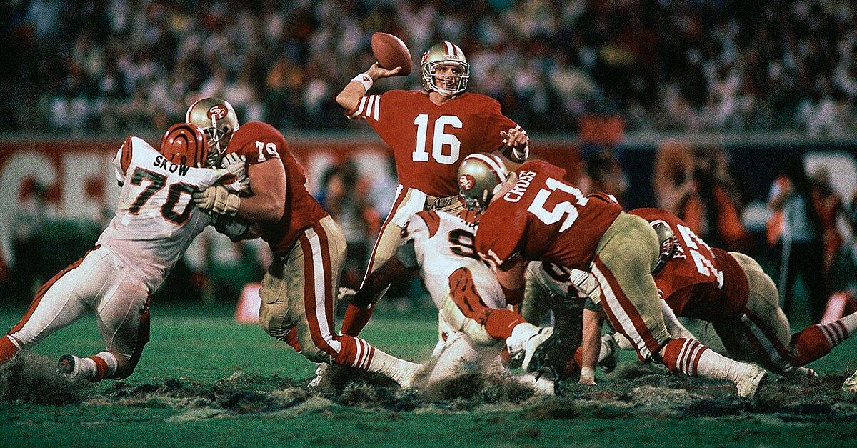 16a7e946f Super Bowl XXIII  Joe Montana