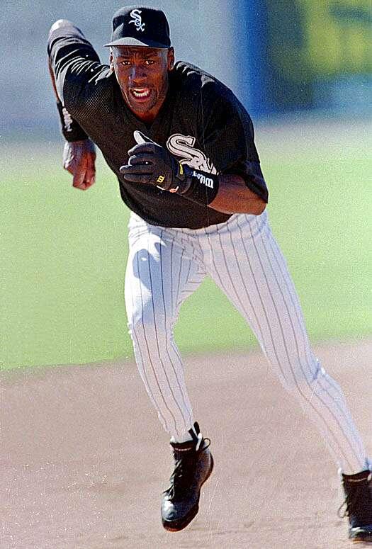Michael Jordan Playing Baseball Sicom