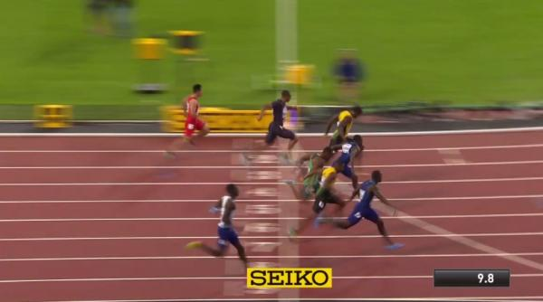 Watch: Usain Bolt Loses Final 100-Meter Race at World Championships, Justin Gatlin Wins Gold