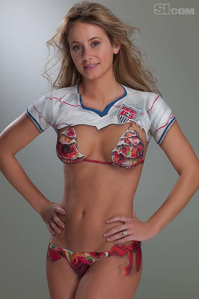 Bethany Dempsey Body Painting 2010 Sports Illustrated Swimsuit