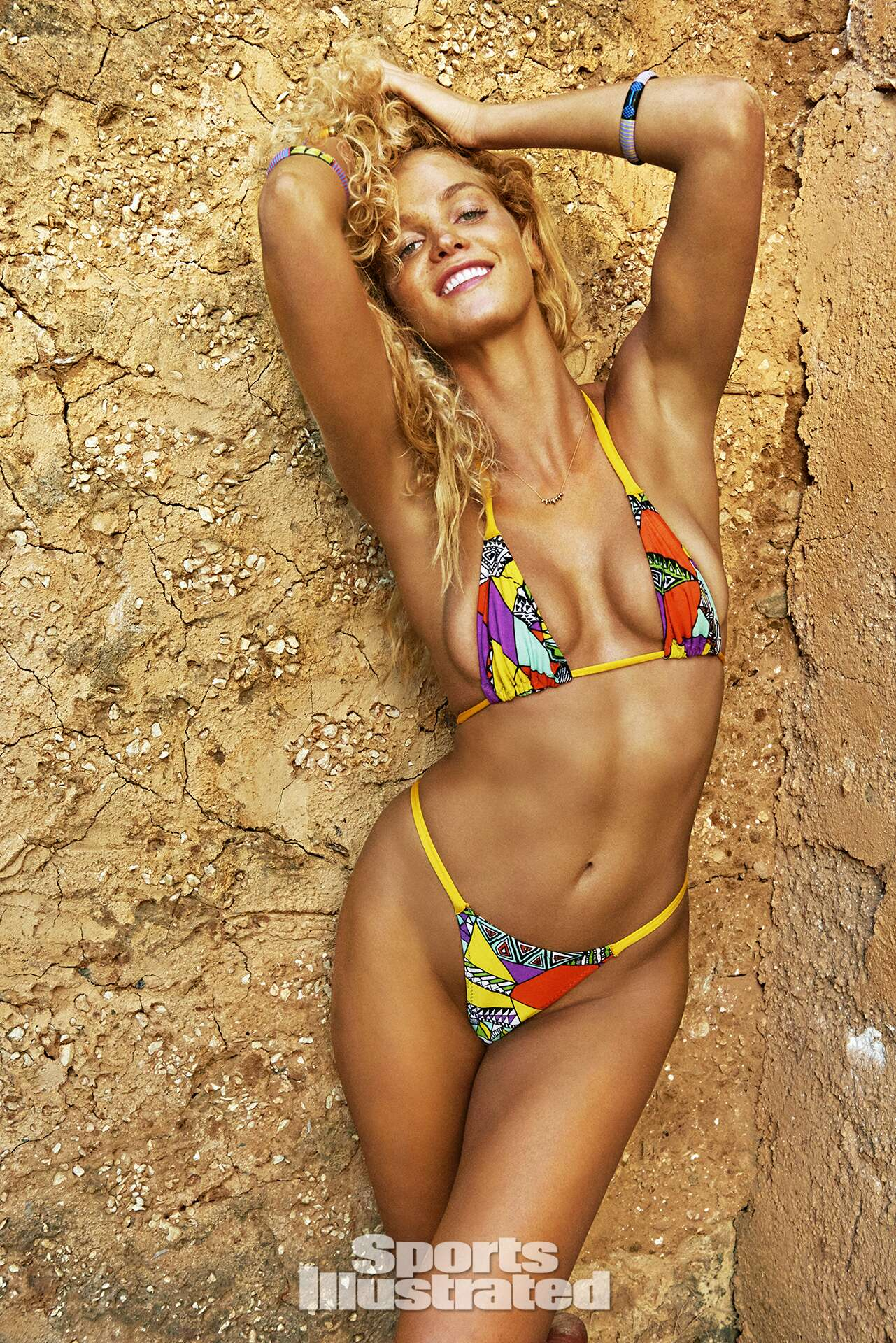 Erin Heatherton was photographed by Ruven Afanador in Zanzibar. Swimsuit by KARO Swimwear.