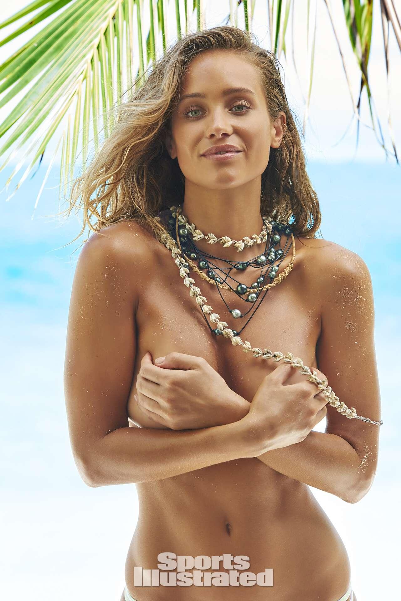 Hannah Davis was photographed by Yu Tsai in The Islands Of Tahiti.