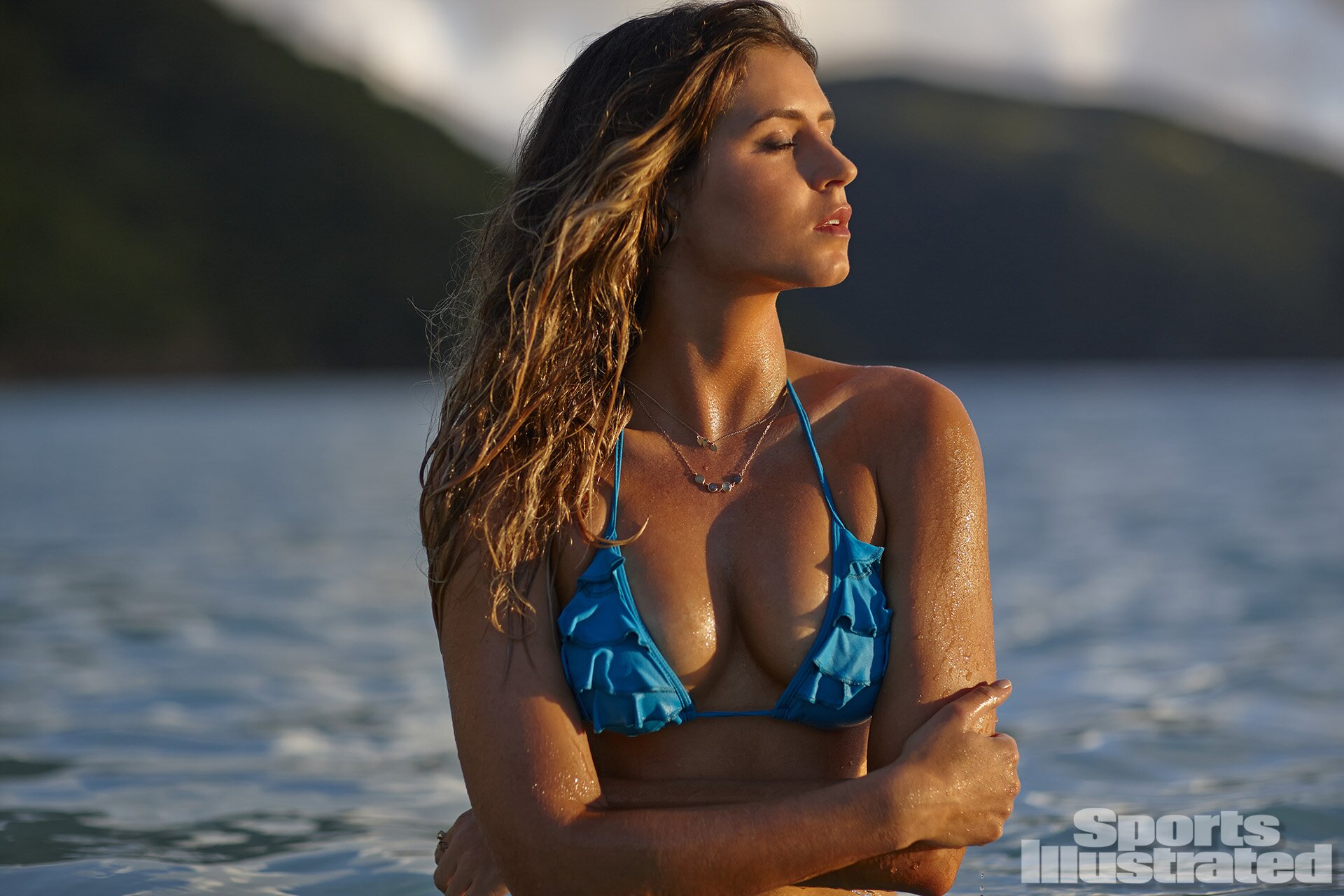 Anastasia Ashley 2014: Guana Island, British Virgin Islands