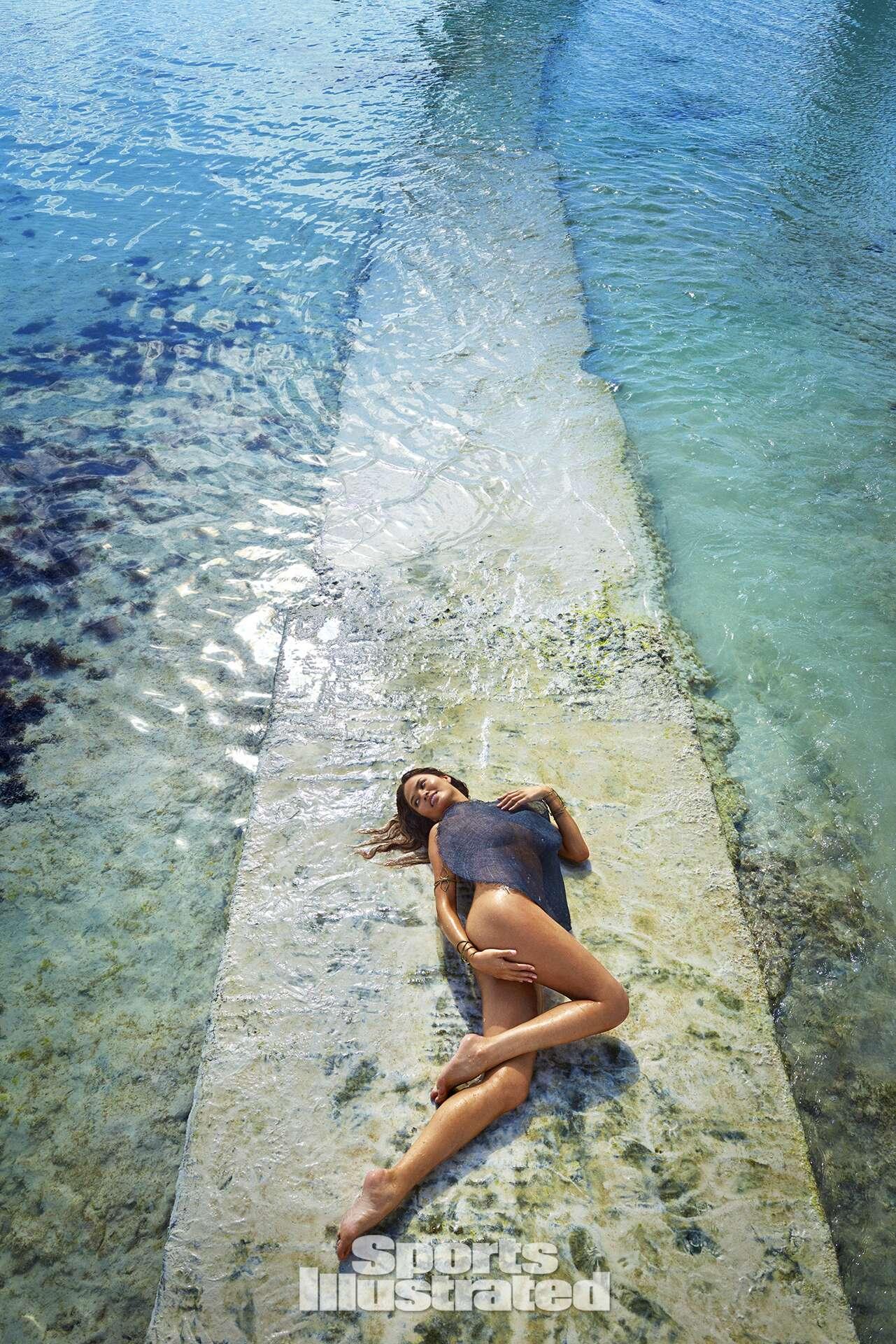 Chrissy Teigen was photographed by Ruven Afanador in Zanzibar.