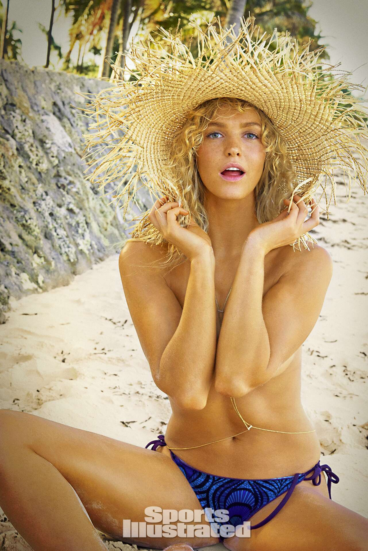 Erin Heatherton was photographed by Ruven Afanador in Zanzibar. Swimsuit by SUMMERLOVE SWIMWEAR.