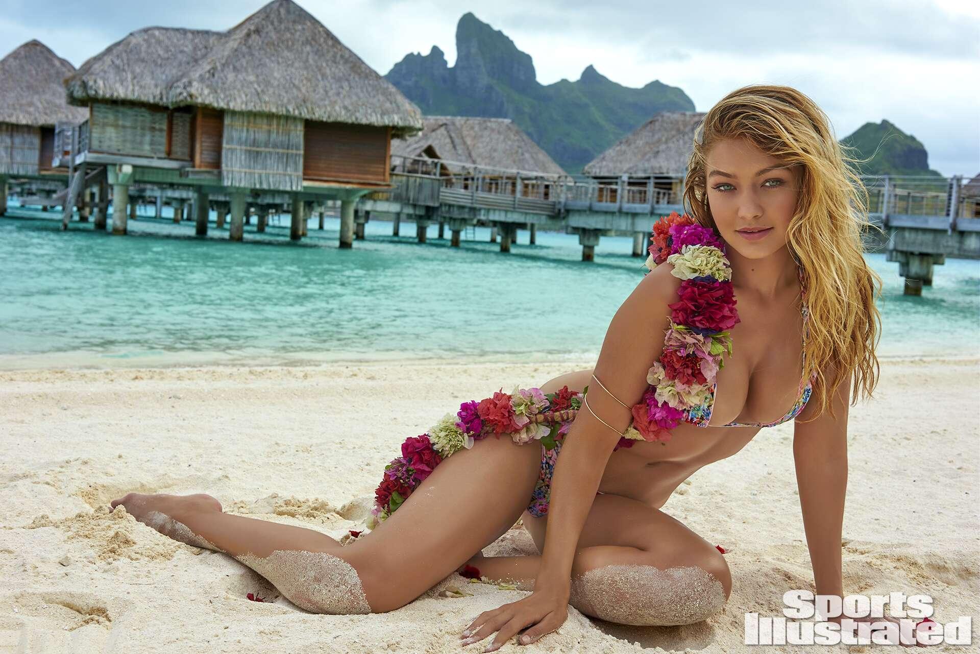 Gigi Hadid 2016: Islands of Tahiti
