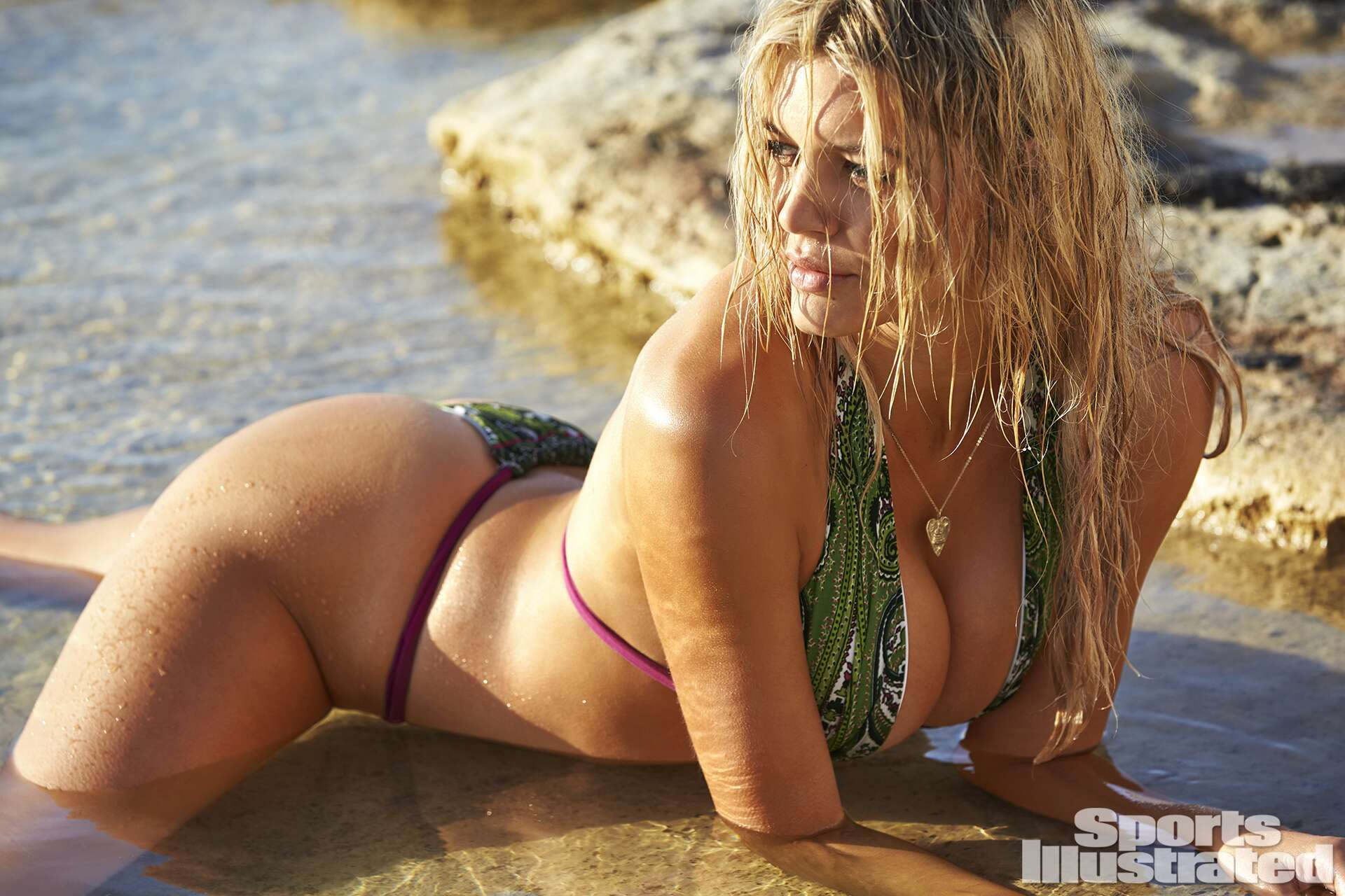 <p>Kelly Rohrbach was photographed by Ben Watts in Malta. Swimsuit by Ola Vida.</p>