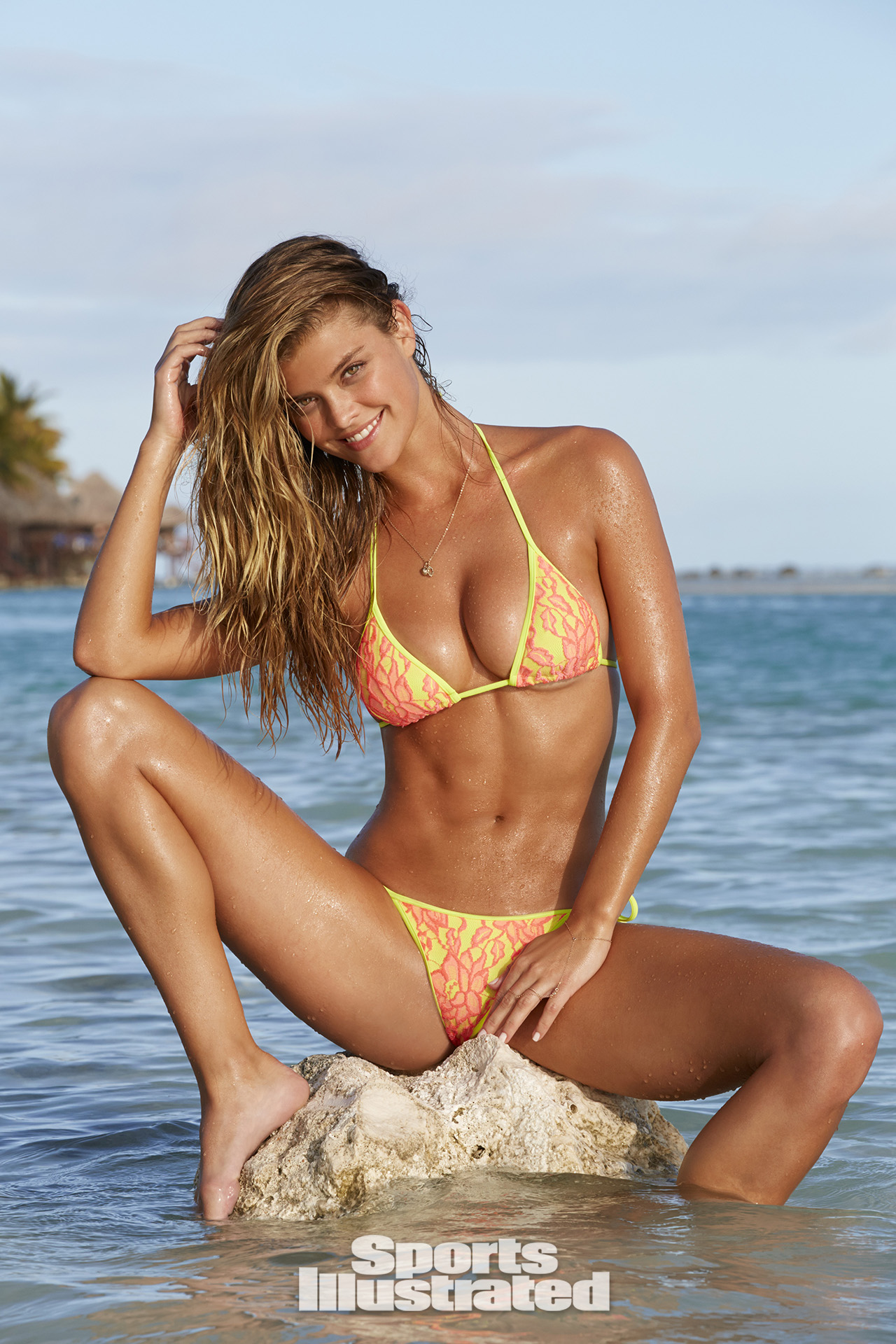 Nina Agdal 2014: Cook Islands