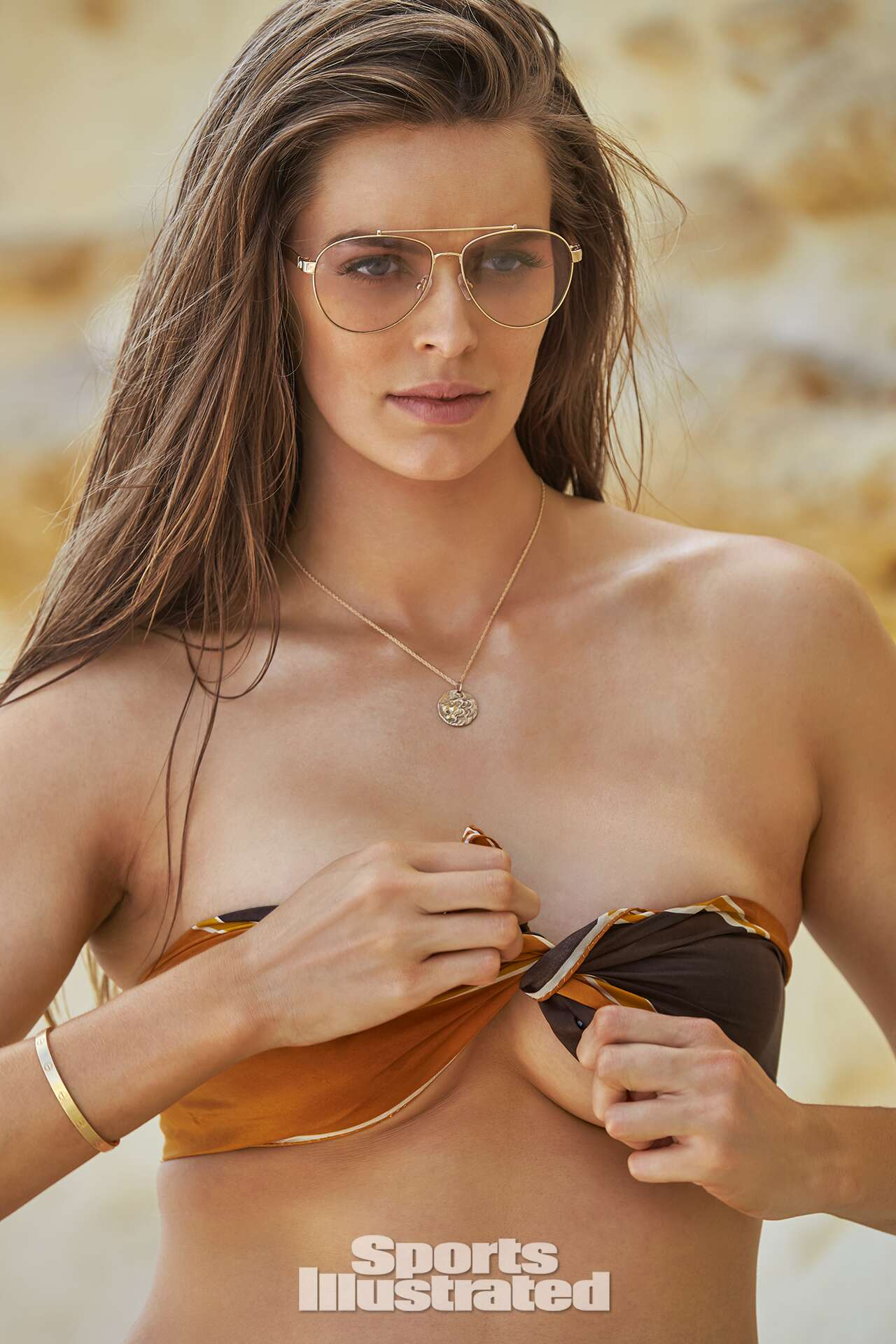 Robyn Lawley was photographed by Ben Watts in Malta.