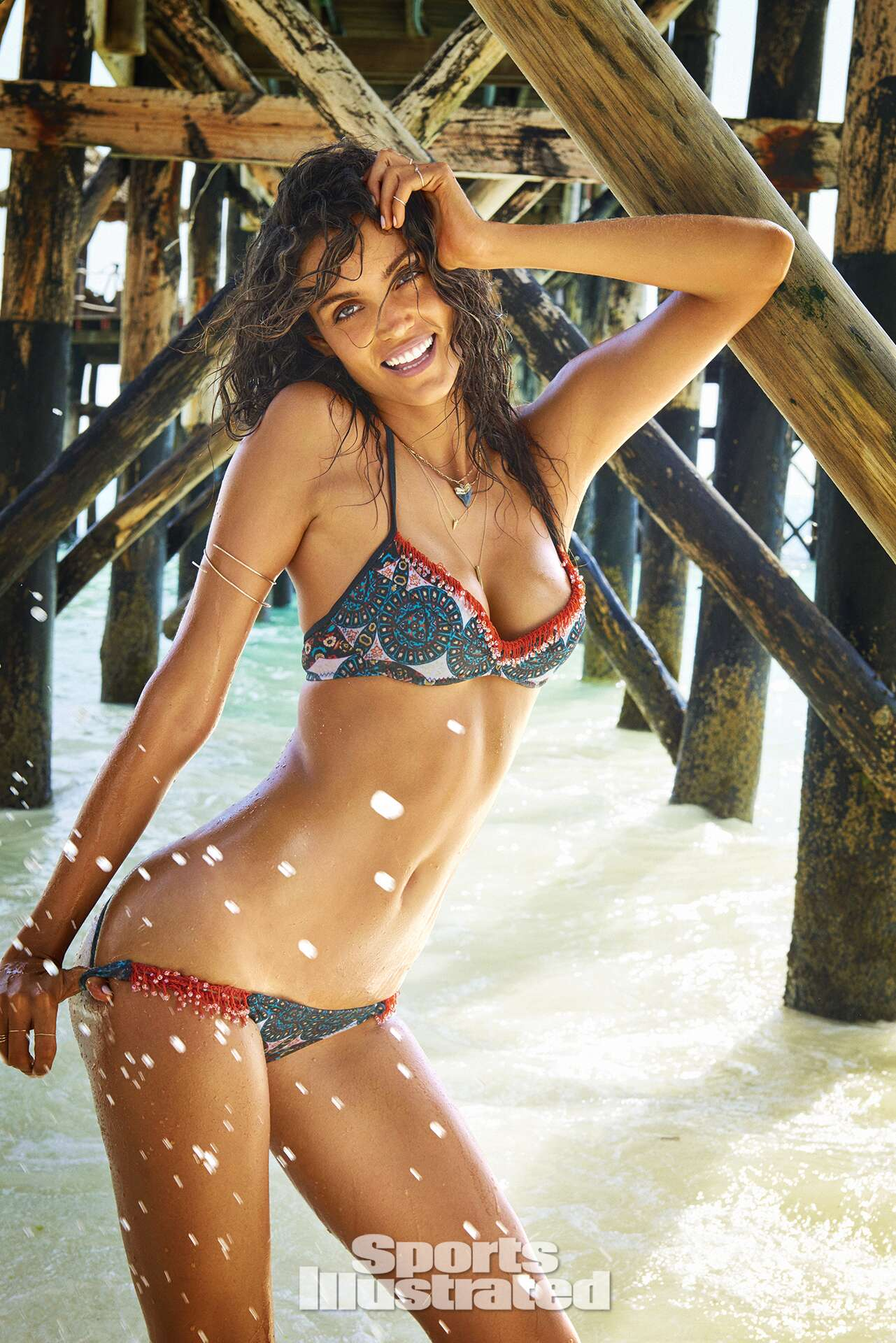 Sofia Resing was photographed by Ruven Afanador in Zanzibar. Swimsuit by Maui Girl By Debbie Wilson.