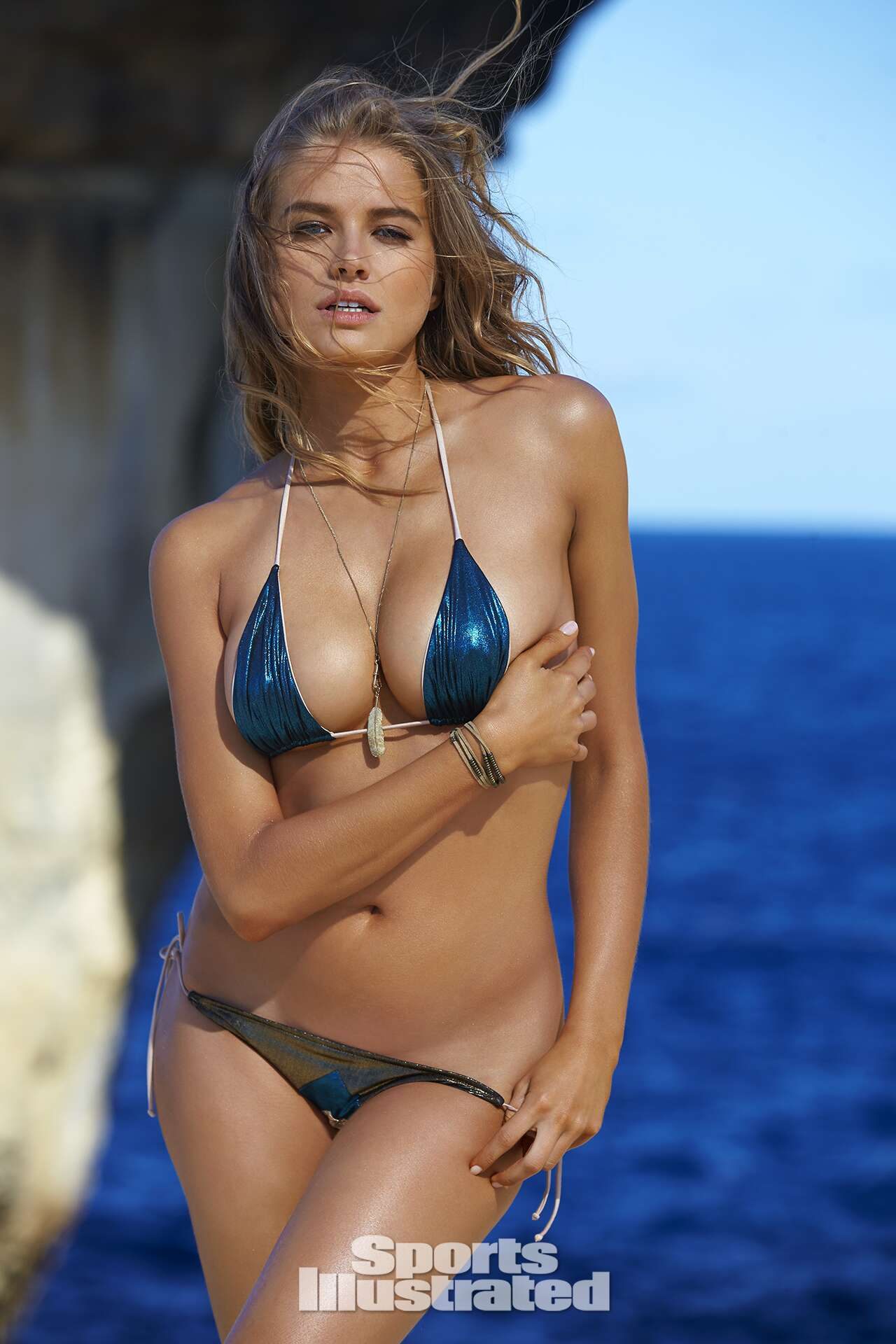 Tanya Mityushina was photographed by Ben Watts in Malta. Swimsuit by Cali Dreaming.