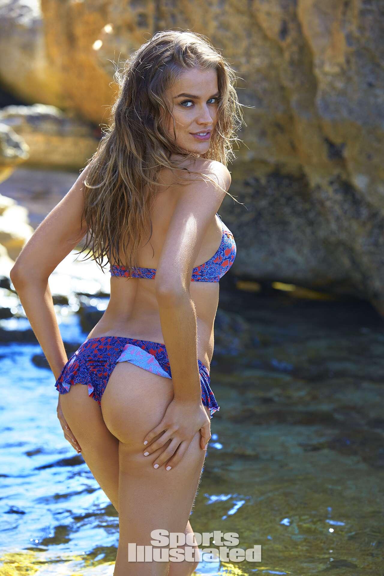 Tanya Mityushina was photographed by Ben Watts in Malta. Swimsuit by The Bikini Lab.