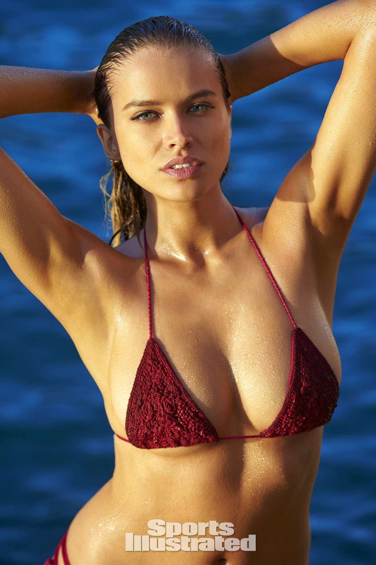 Tanya Mityushina was photographed by Ben Watts in Malta. Swimsuit by R O V E S W I M.