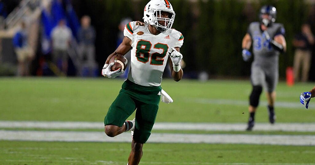 Report: Miami WR Ahmmon Richards's Career Over Due to Disabling Neck Injury