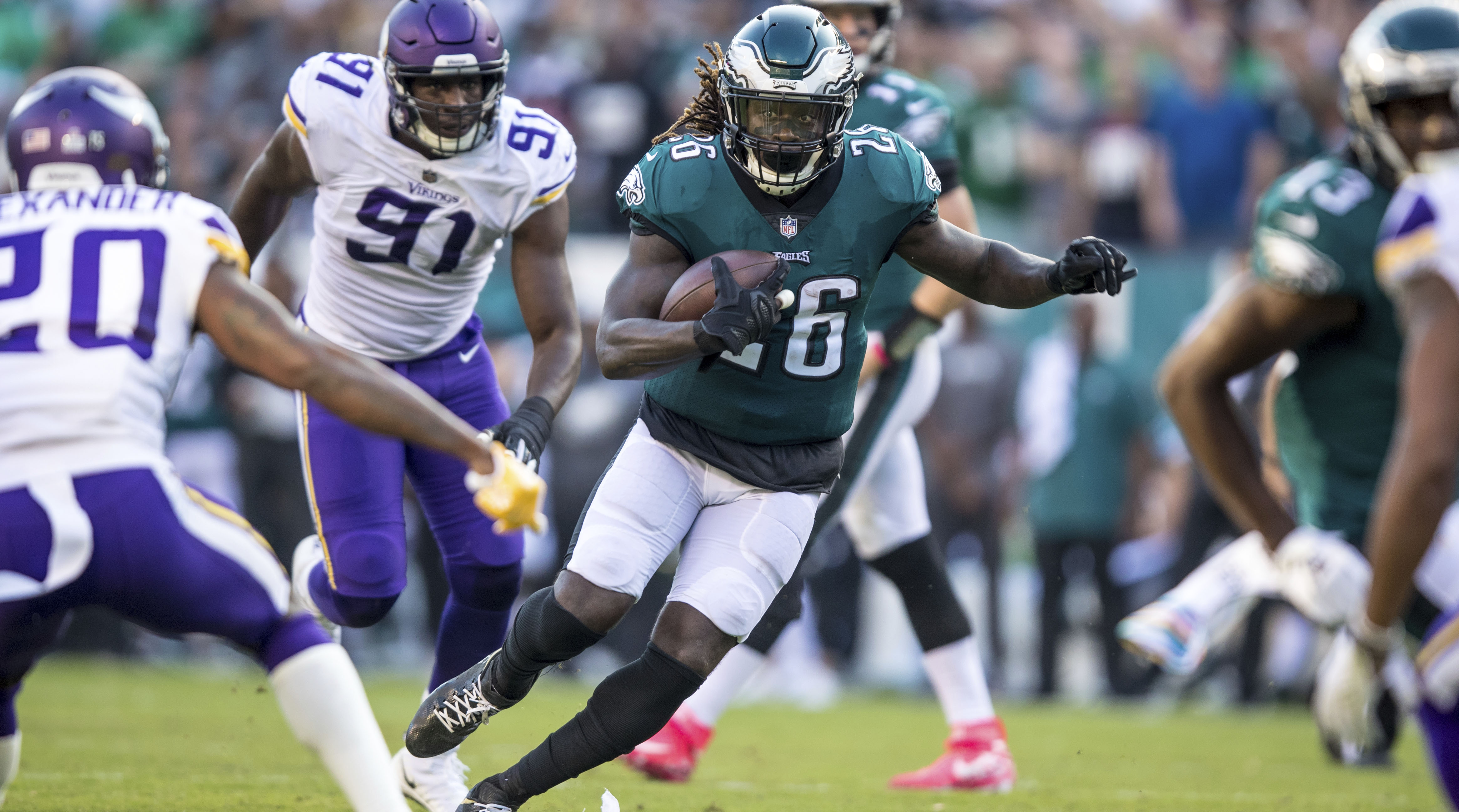 Eagles RB Jay Ajayi Took Out Loss-of-Value Insurance Policy In Case of Injury