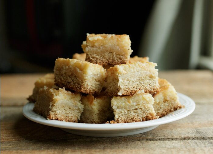 Chess Squares With White Cake Mix