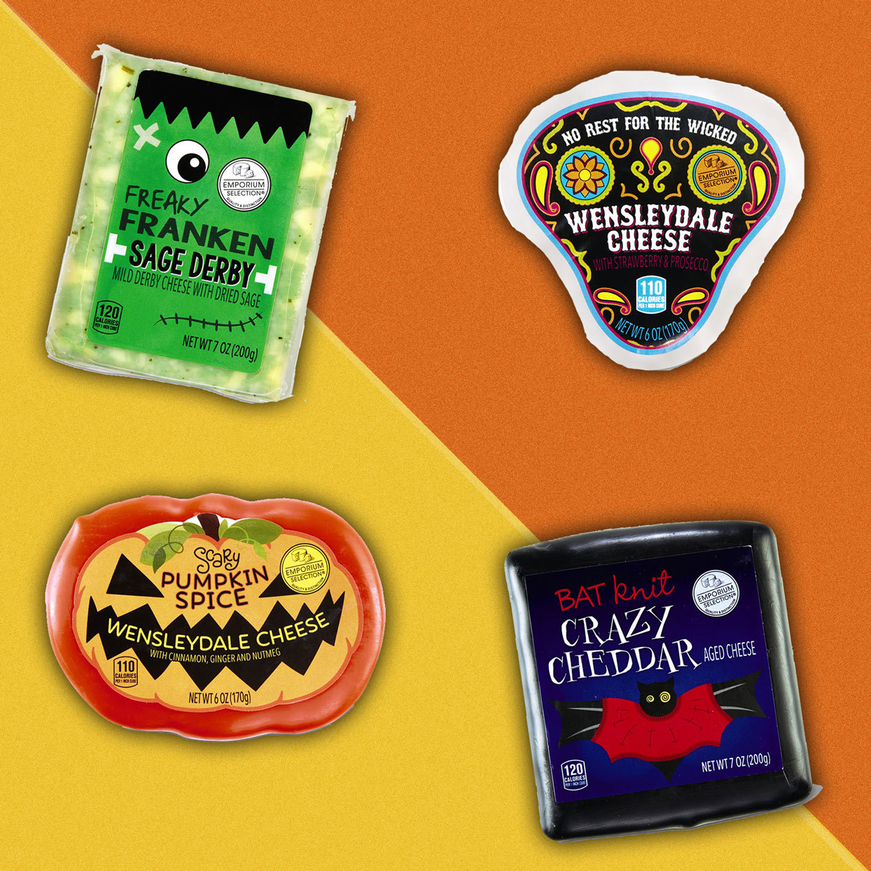 You Need Aldi's New Halloween Cheeses If You're 100% That Witch