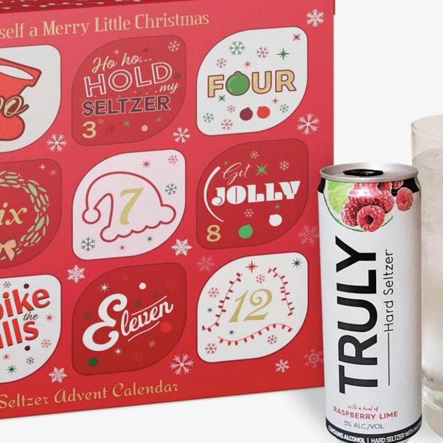This Spiked Seltzer Advent Calendar Will Be the Hottest Secret Santa Gift of 2019