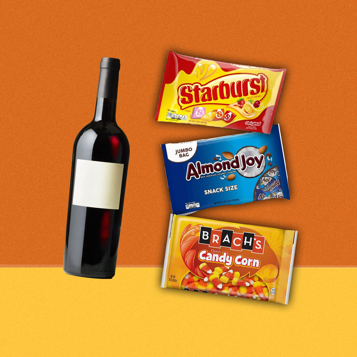 The Best Wine to Drink With Your Favorite Halloween Candy