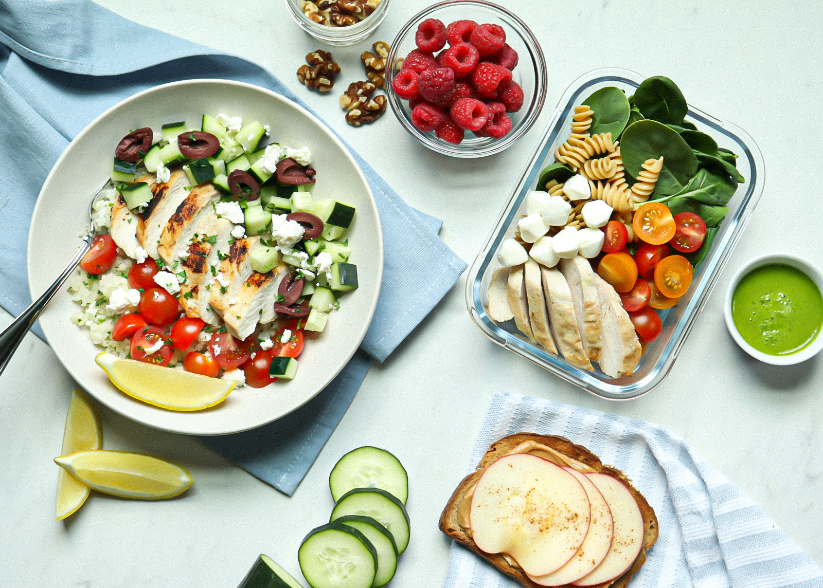30-Day Mediterranean Budget Meal Plan