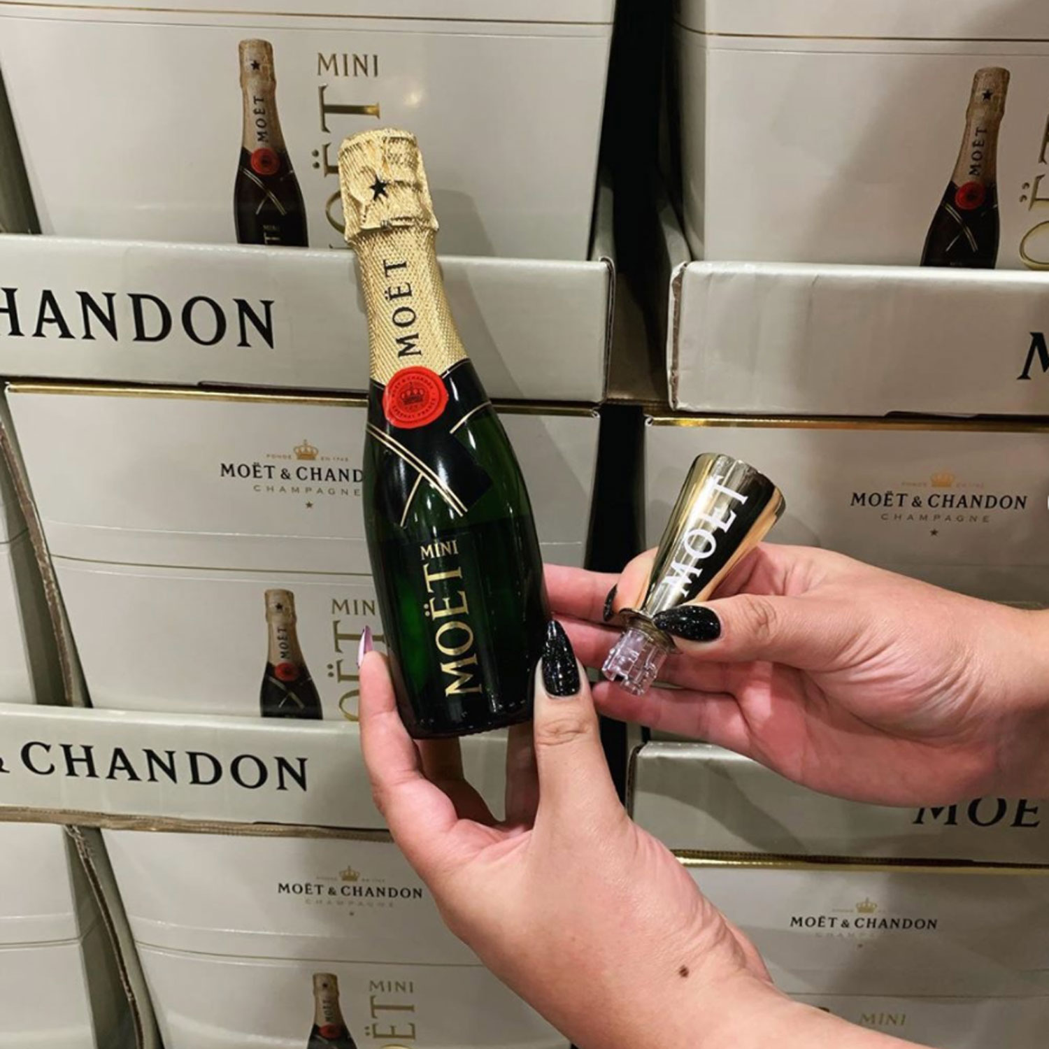Costco Is Selling 6-Packs of Mini Champagne Bottles That Are Perfect for Small Celebrations
