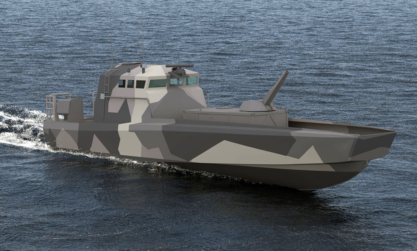 This modular design allows for NEMO to be deployed on multi-role vessels, even highly maneuverable littoral combat boats.