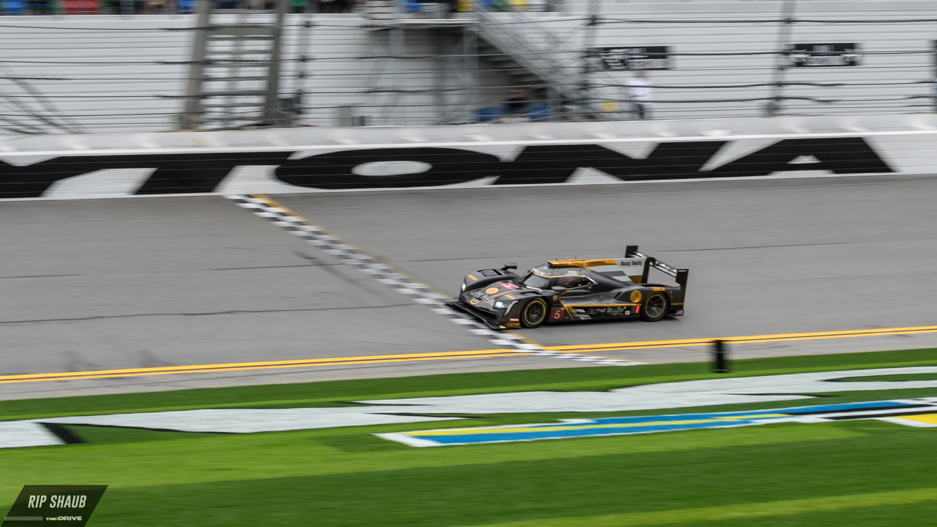 The No. 5 Mustang Sampling Cadillac DPi-V.R commandeered the Rolex 24 to the top step in January.