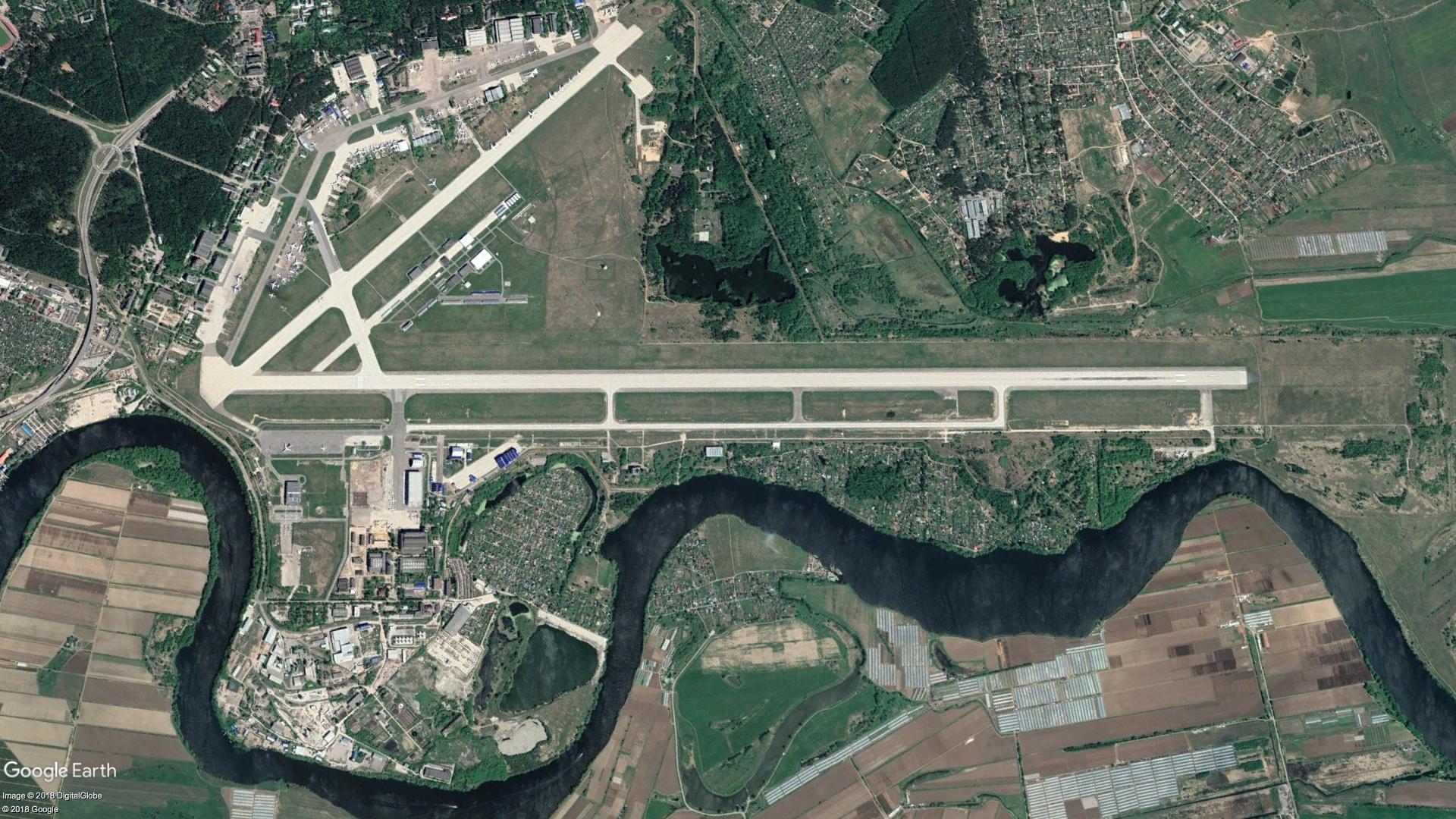 Zhukovsky Airport also hosts the biennial MAKS international air show.