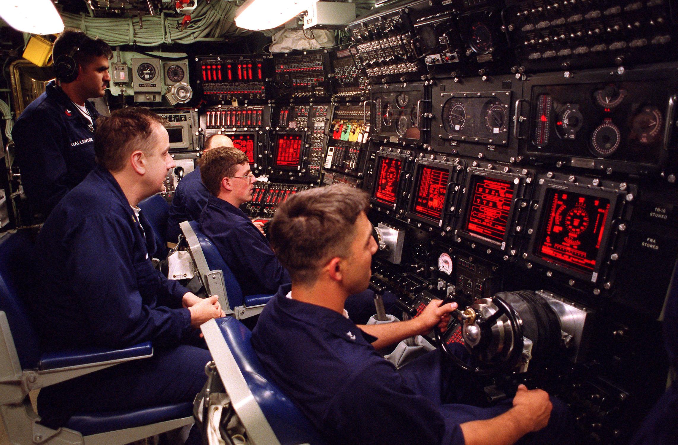 The conn aborad <em>USS Jimmy Carter</em>, the <a href=