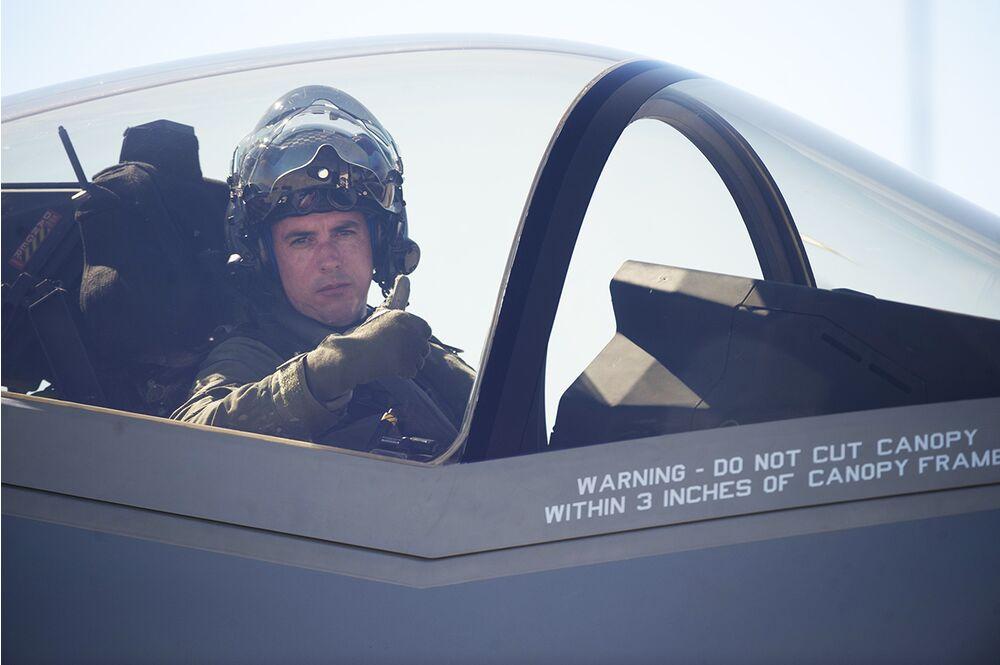 Maestro in the F-35A.