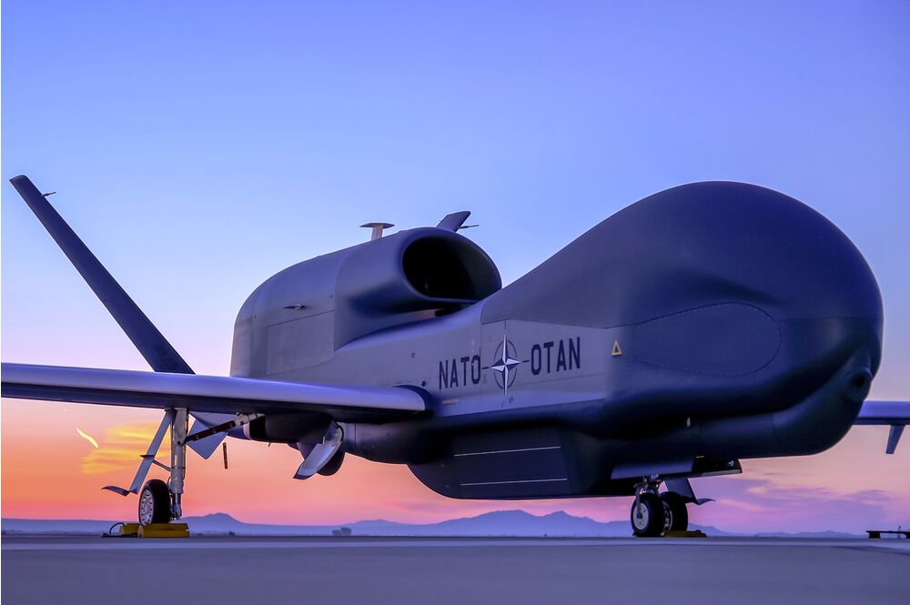NATO AGS version of the Global Hawk